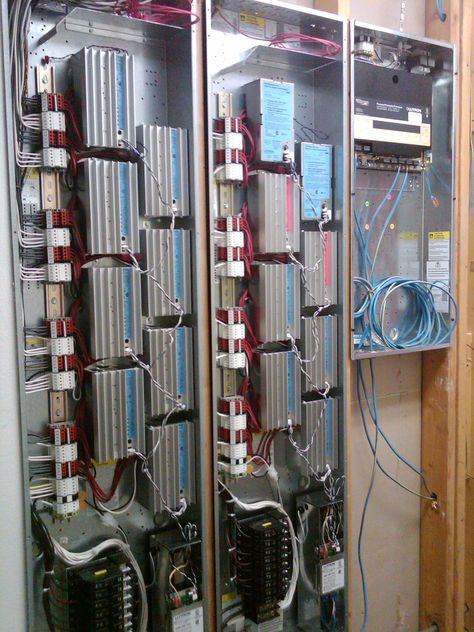 Lutron Homeworks Lighting Control Panels Cool