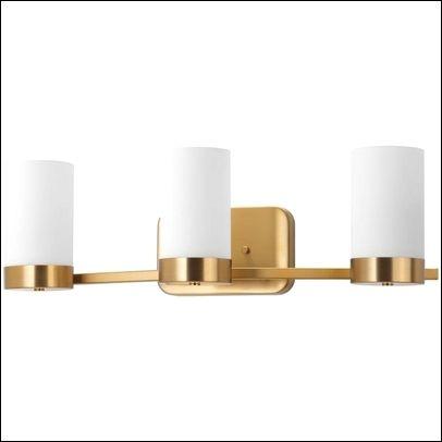 Champagne Gold Bathroom Light Fixtures Bathroom Light Fixtures
