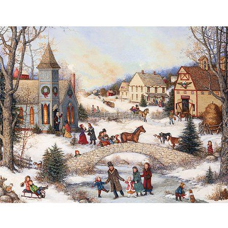 Lang Christmas Cards 2020 Lang Folk Art Holiday Assorted Christmas Cards   Walmart.in