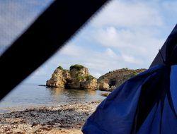 Bir Kamp Alani Sardala Koyu Renkli Sen Geziler Kamp Tatiller