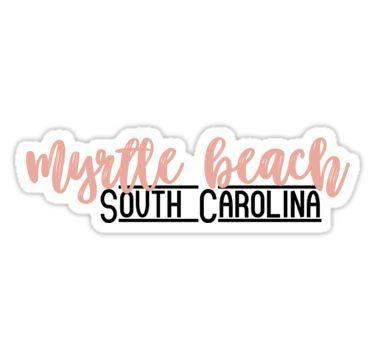 Myrtle Beach sticker//decal