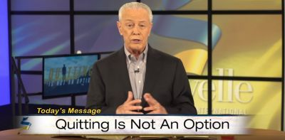Quitting Is Not An Option, Part 1 - Jerry Savelle (July-15-2018