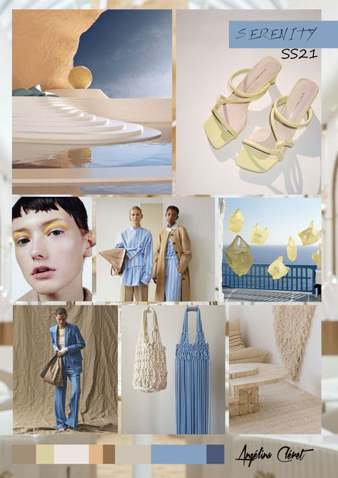 SERENITY – Fashion & Colors Trend by Angélina Cléret – 2020 Fashions Womens and Man's Trends 2020 Jewelry trends