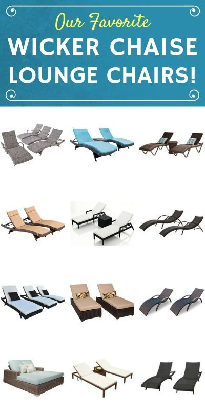 Best Wicker Chaise Lounge Chairs