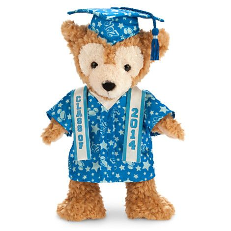Duffy the Disney Bear Graduate Plush - Class of 2014 - only because it's a senior thing. :3
