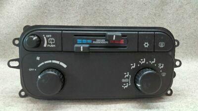 Temperature Climate Control 55056250ad Fits 02 03 Dodge Durango K103 174557 Dodge Durango Car Parts And Accessories Ac Heating