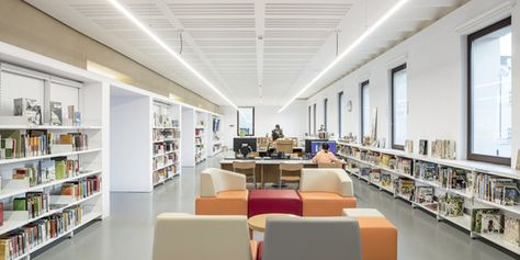 Gallery Of Sant Sadurní D Anoia Cultural Center And Archive Library Taller 9s Arquitectes 35 Archive Library Cultural Center Public Architecture