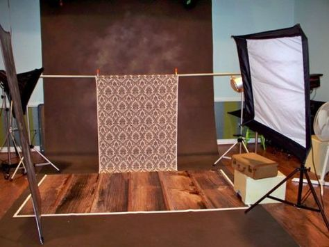 Studio set up featuring our @PhotoPropFloors Backdrops floor drop (backdrop) at @Silver Image Studio