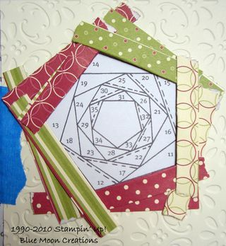 Paper Piecing tutorial for those who want to learn the process Iris Folding Templates, Iris Paper Folding, Iris Folding Pattern, Quilted Christmas Ornaments, Crochet Ornaments, Crochet Snowflakes, Crochet Christmas, Christmas Bells, Christmas Angels