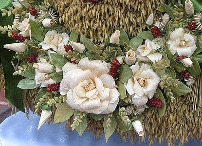 Korony Dozynkowe Szukaj W Google Christmas Wreaths Floral Art Diy And Crafts