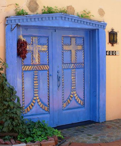 & Sky Blue | Doors and Architecture Pezcame.Com