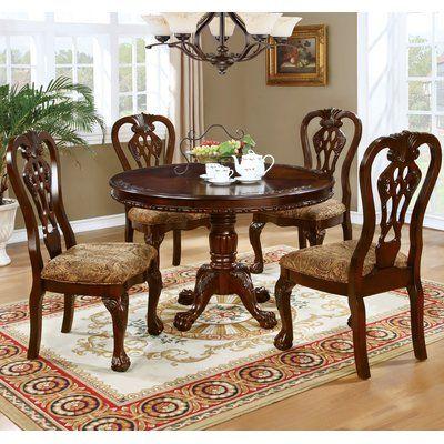 Astoria Grand Josephson Dining Table Wayfair Round Dining Table Sets Round Pedestal Dining Table Round Pedestal Dining