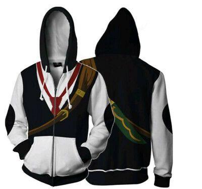 Black Butler Sebastian//Ciel Hoodie Jacket Pullover Coat Cosplay Anime Unisex