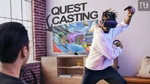 Oculus Quest Cast On Tv Youtube It Cast Cast To Tv Tv Connect