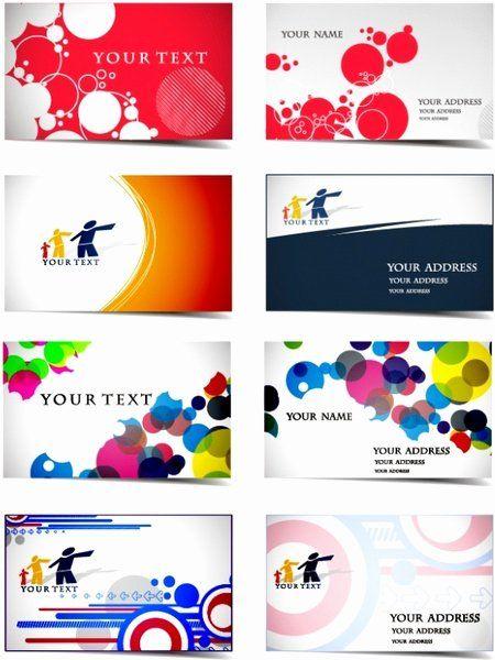 Business Line Card Template Inspirational Dynamic Flow Line Business Card Template Vector Free Free Business Card Templates Card Template Cards