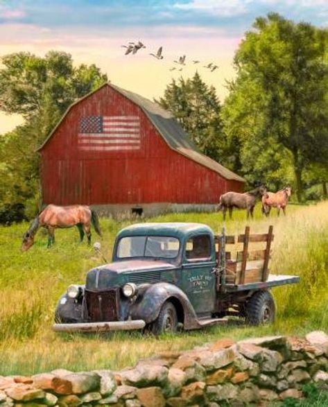 Barn Pictures, Road Pictures, Country Barns, Country Primitive, Country Trucks, Country Life, Country Living, Antique Trucks, Vintage Trucks