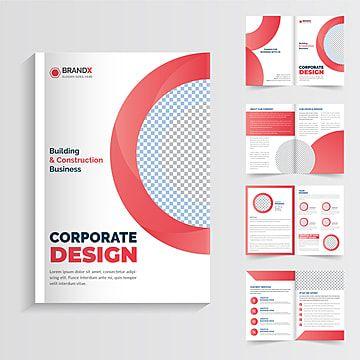 صفحات كتيب الشركة قالب تصميم قالب كتيب الشركة Corporate Design Design Pie Chart