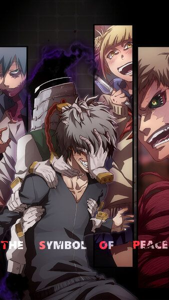 My Hero Academia League Of Villains Characters 4k Hd Mobile Smartphone And Pc Desktop Laptop Wallpaper 3840x2160 My Hero My Hero Academia Villain Character