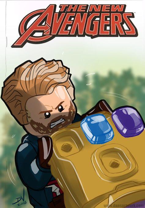 THANOS double épée Mini Figure Avengers Issue Gold Version Marvel Vendeur Britannique
