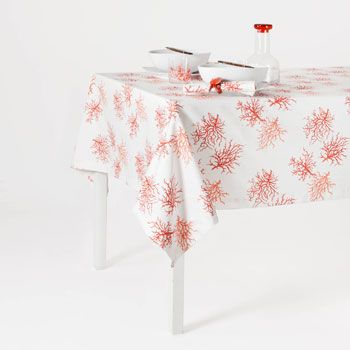 Coral Tablecloth_Zara Home | Evcil | Pinterest | Color Inspiration, Pillows  And House