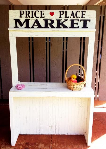 Price Place Market Stand | Do It Yourself Home Projects from Ana White