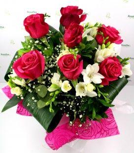 Rosaflor La Fioreria Di Bassano Fiorerie Mazzo Di Rose Decorazioni Floreali