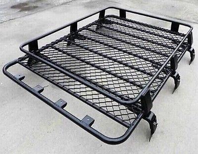 Transit Van Steel Roof Rack Tray Top Black 4x4 Cargo Luggage