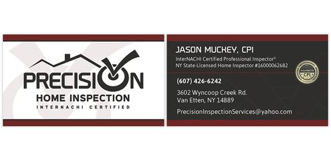 business card inspector new free brochure and business card