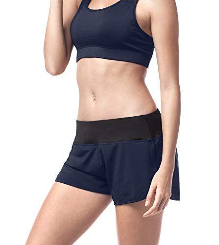 Lot de 2 Marque AURIQUE Shorts de Yoga Femme