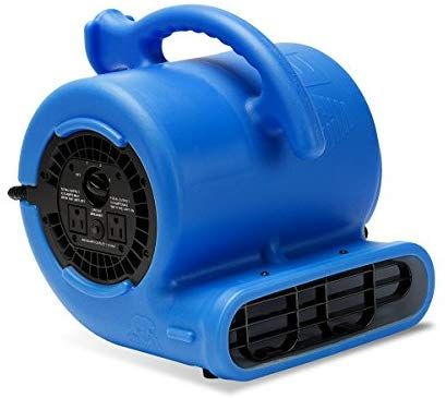 Amazon Com B Air Vp 25 1 4hp Blower Floor Fan High Velocity Heavy Duty Industrial Air Mover Utility Electric Carpet D Blower Fans Damage Restoration Blowers