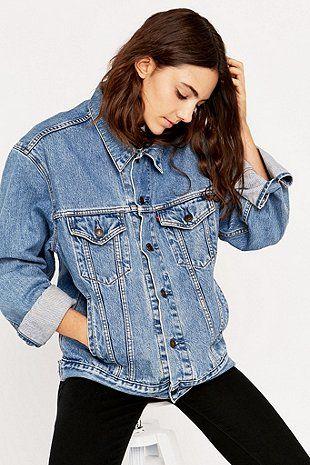 Veste jean levis femme vintage