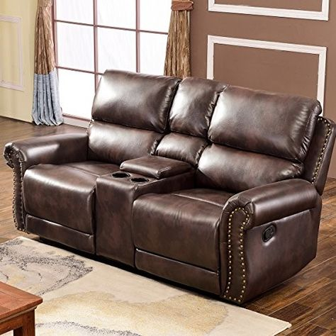 Harper Bright Designs Sectional Recliner Sofa Set Brown Loveseat Sectional Sofa With Recliner Sofa Set Couch Loveseat