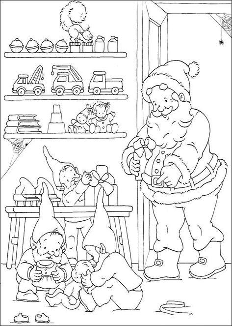 450 Disegni Di Natale Da Colorare Natale Pinterest
