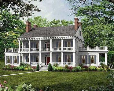 Plan 81261w Louisiana Beauty Colonial House Plans Country Style House Plans Southern House Plans
