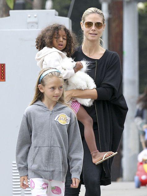 Heidi Klum & Family: Birthday Bunch
