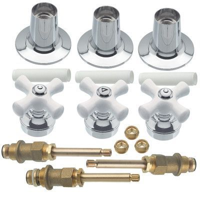 Danco Tub Shower 3 Handle Remodeling Trim Kit Tub And Shower Faucets Shower Tub Shower Faucet