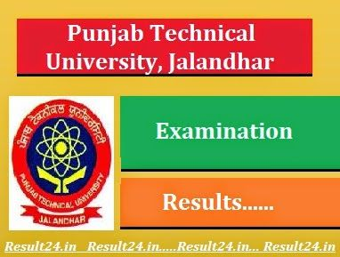 The PTU has published the technical Exam results of all UG & PG