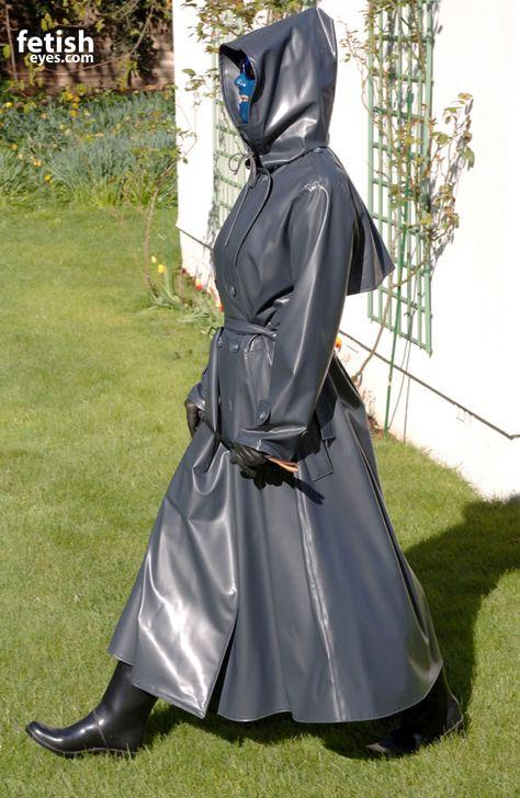 The Vampire Queen in Rainwear