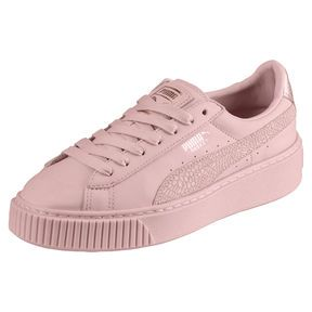Basket Euphoria RG Women's Trainers, Silver Pink Rose Gold