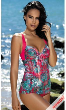 cde8416699fae4 Elegancki #tankini to #Jednoczęściowy kostium czy 2 częściowy strój # kąpielowy? #Feba F55-450 strój kąpielowy - 194,00zł Zamów telefonicznie  Telefon: 77 46 ...
