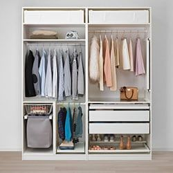 Bedroom Clothes Storage Ikea Closet Renovation Bedroom
