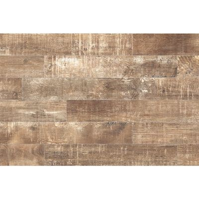 Style Selections Sequoia Ballpark 6 In X 36 In Porcelain Wood Look