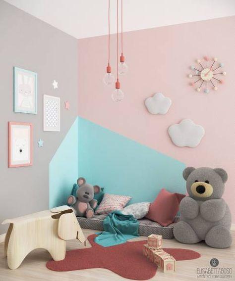 scandinavian Nursery/kid's room by Elisabetta Goso >architect & 3d visualizer<