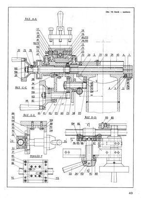 Planos Para Torno Paralelo Casero Herramientas De Torno Tecnicas De Dibujo Dibujo Mecanico