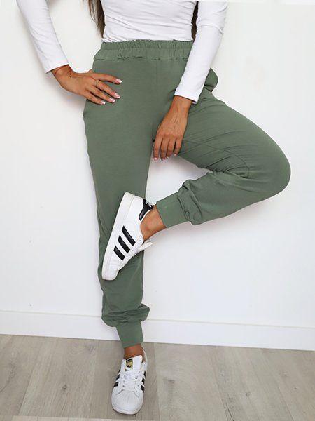 Spodnie Z Lampasem W Spodnie Damskie Moda Damska Na Allegro Pl