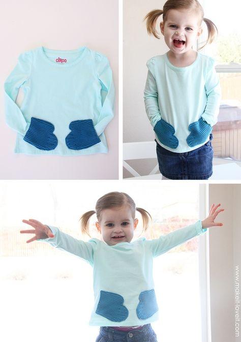 Fácil , barato y divertido!( tutorial, diy clothes,reciclar , idea, ropa ,kids, personalizar ropa, diy , fashion)
