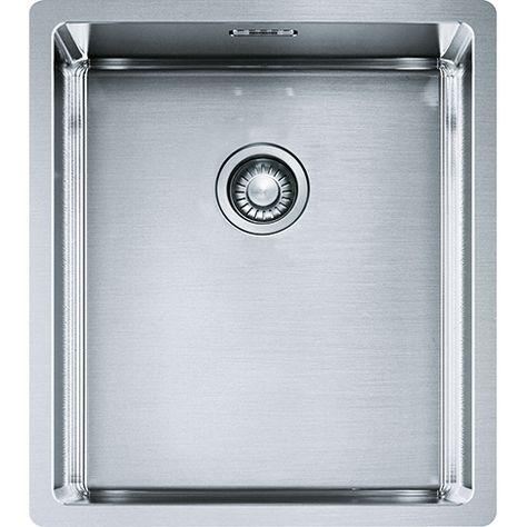 Bolero Box 210 36 Stainless Steel Sinks Undermount Stainless Steel Sink Undermount Sink Laundry In Bathroom