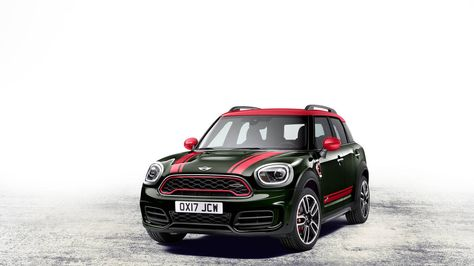 Check Out The 2017 Mini John Cooper Works Countryman All4 Minicooper Awd Fun
