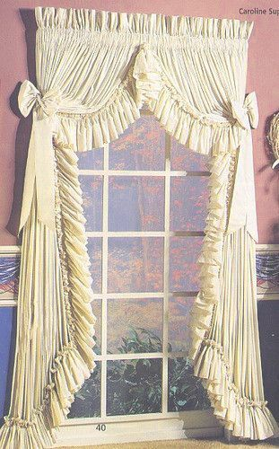 Pin By Beryl Nunnally On Curtains In 2020 Ruffle Curtains