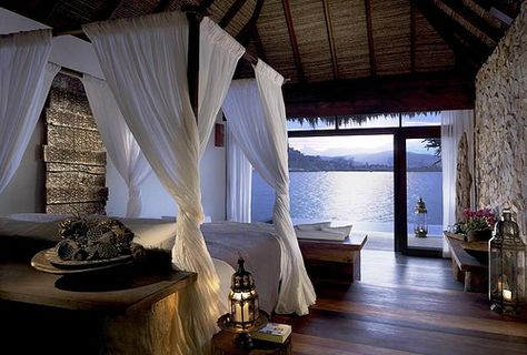 Indulge yourself at Song Saa Island Resort on the coastal town of SihanoukVille, Cambodia – one of 42 places to go in 2012 recommended by the New york times. - www.backyardtravel.com/hotels/song-saa-private-island-sihanoukville-cambodia